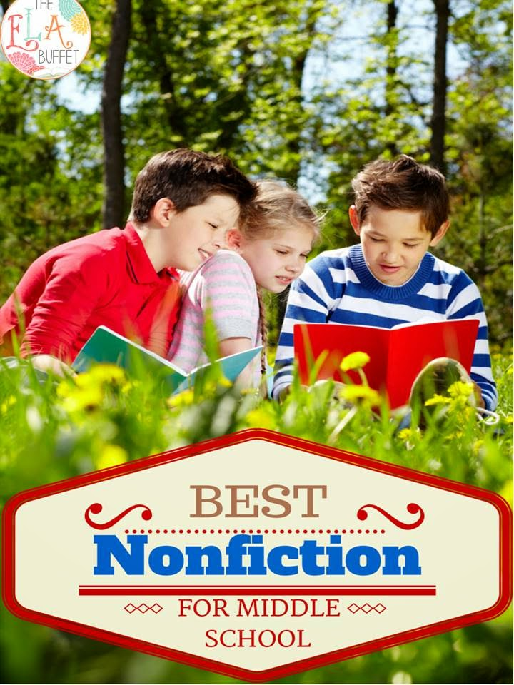 nonfiction book reports for middle school