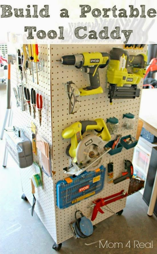 Tool Storage Ideas Diy Diy Garage Tool Storage Ideas