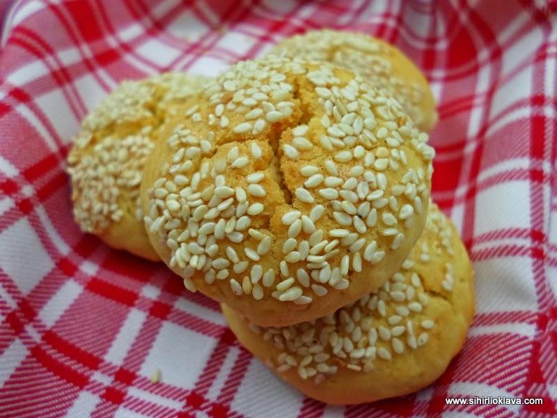 damla sakızlı peynirli kurabiye