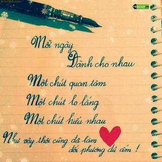 Yêu xa cần lắm sự quan tâm dù chỉ là một tin nhắn