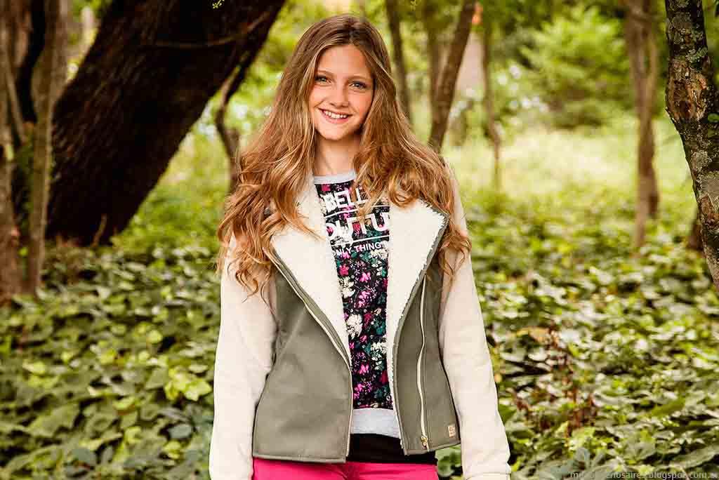 Camperas 2015. Moda otoño invierno 2015. Buddies ropa para nenas.