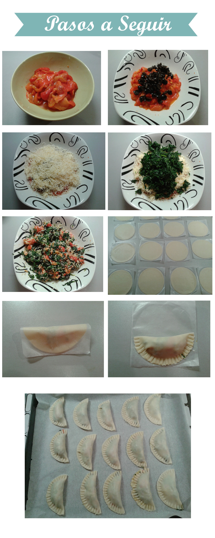 Empanadillas de Pimientos
