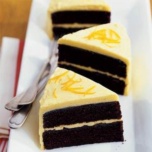 Orange Chocolate Cake Recipe