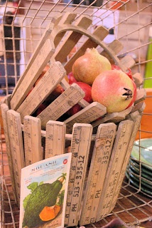 Yardstick basket