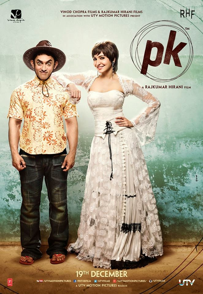 5th Poster Of Aamir Khan Movie PK Peekay
