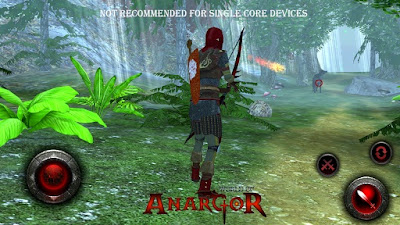 World Of Anargor 3D RPG v1.0 APK + DATA Android zip market google play