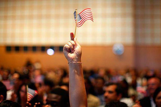 Bandeirinha dos Estados Unidos