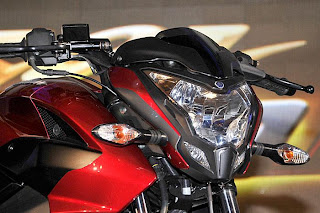 new bajaj pulsar 200 NS front lights