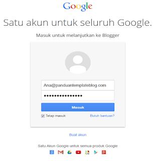 Tampilan Baru Form Login Akun Google