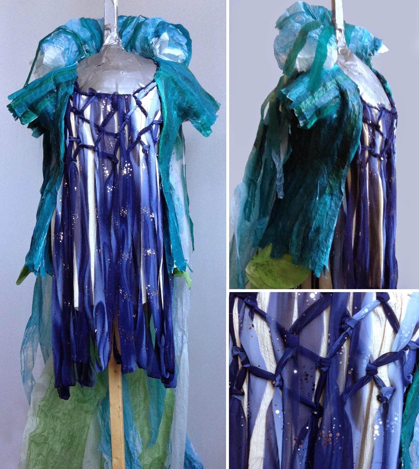 Peacock Dress and Jacket - © Samantha Grenier 2014