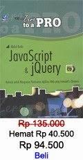 JavaScript dan jQuery
