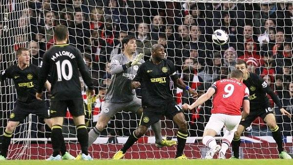 Arsenal vs Wigan Athletic 14/05/2013