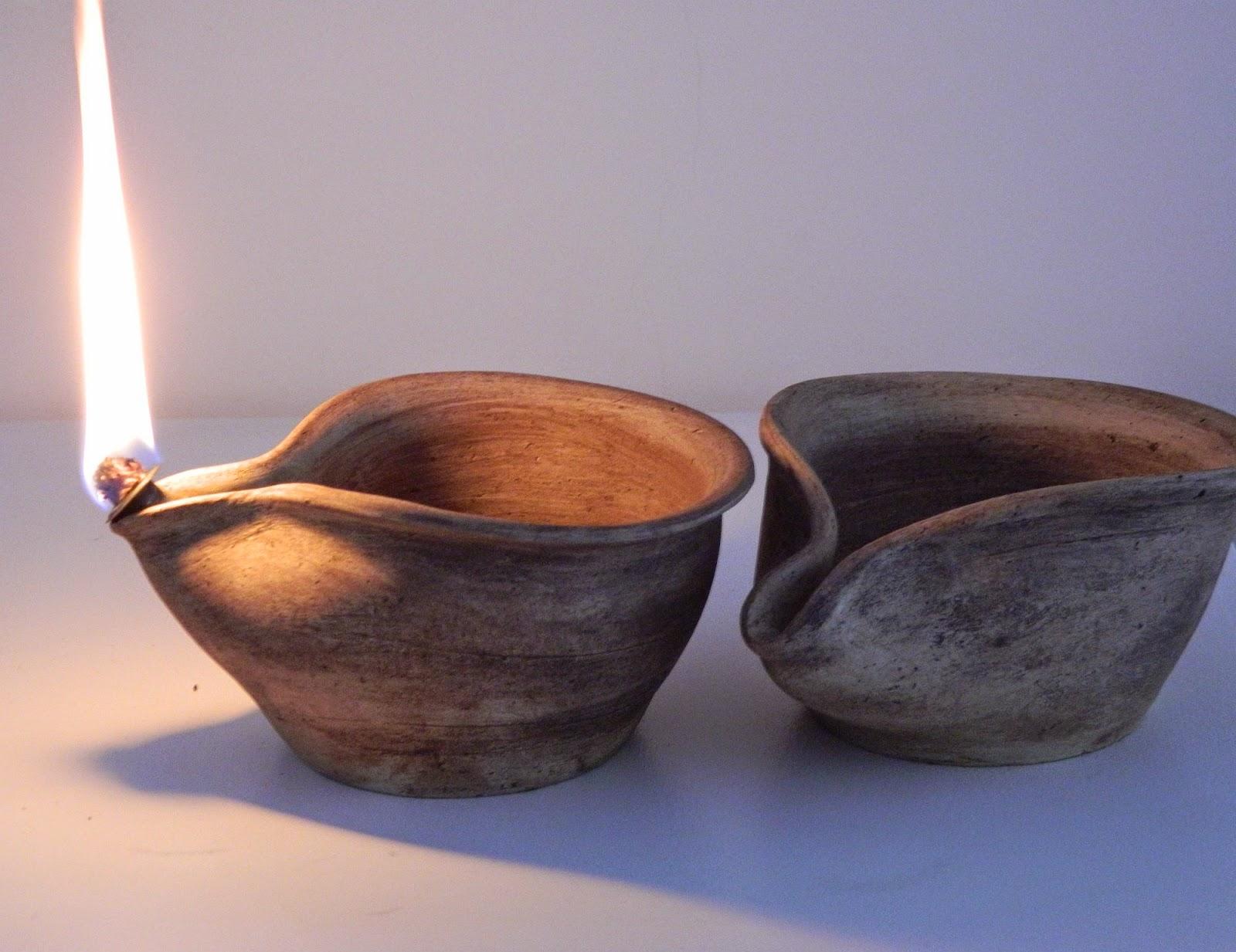 Lampade In Vetroresina : Chiaraclay lampade a olio