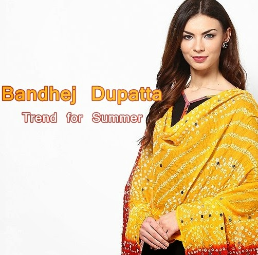 Bandhej Dupatta Collection 2014