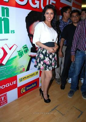 Actress Asin Promote Ready movie stills
