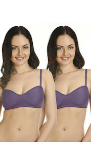 PayTM : Buy Tweens Purple Cotton Bra Set Of 2 at Rs.198 only after cashback