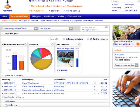 Banque en ligne Rabobank