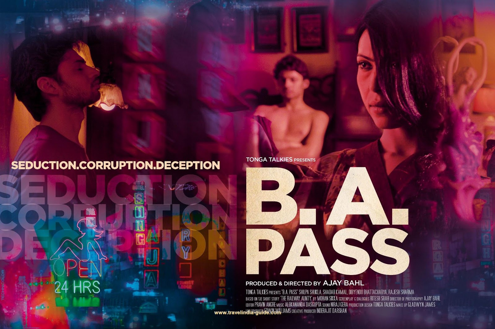 Watch B.A. Pass 2013 Hindi Movie Trailer, movie review Online from YouTube new release bollywood movies channel