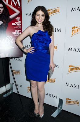 Michelle Trachtenberg: Maxim March 2011 Cover Party Look