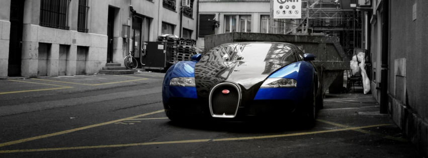 Bugatti veyron grand sport facebook cover