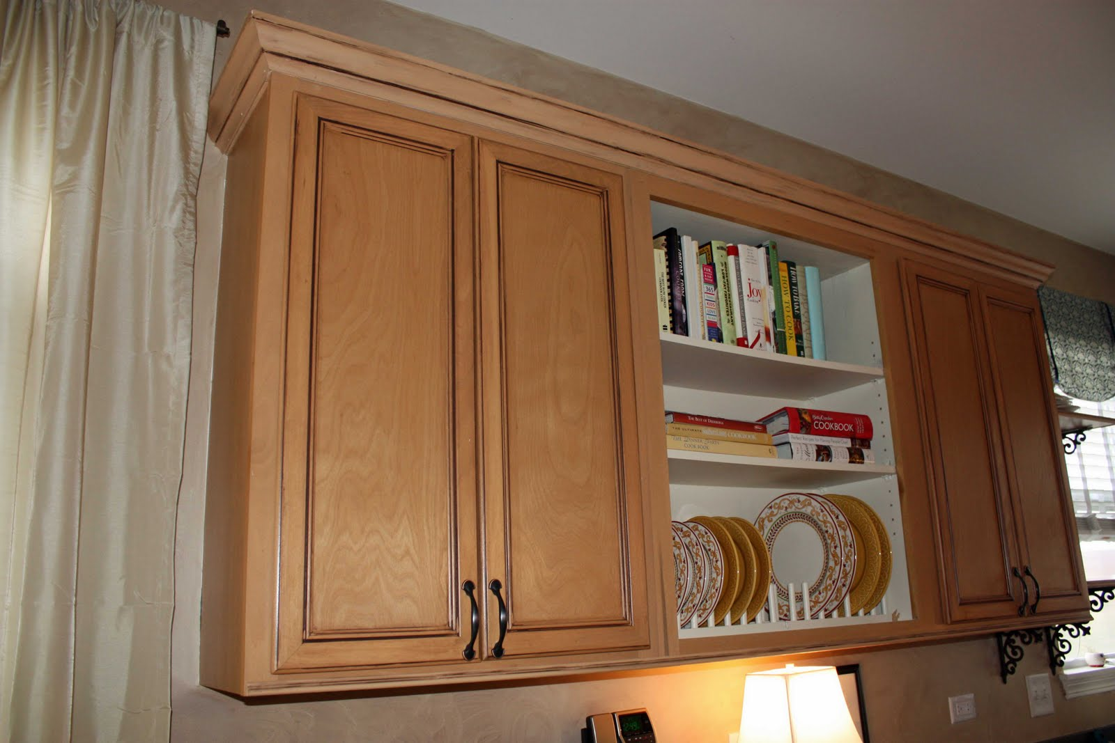 transforming home how to add crown molding to kitchen ForAttaching Crown Molding To Kitchen Cabinets
