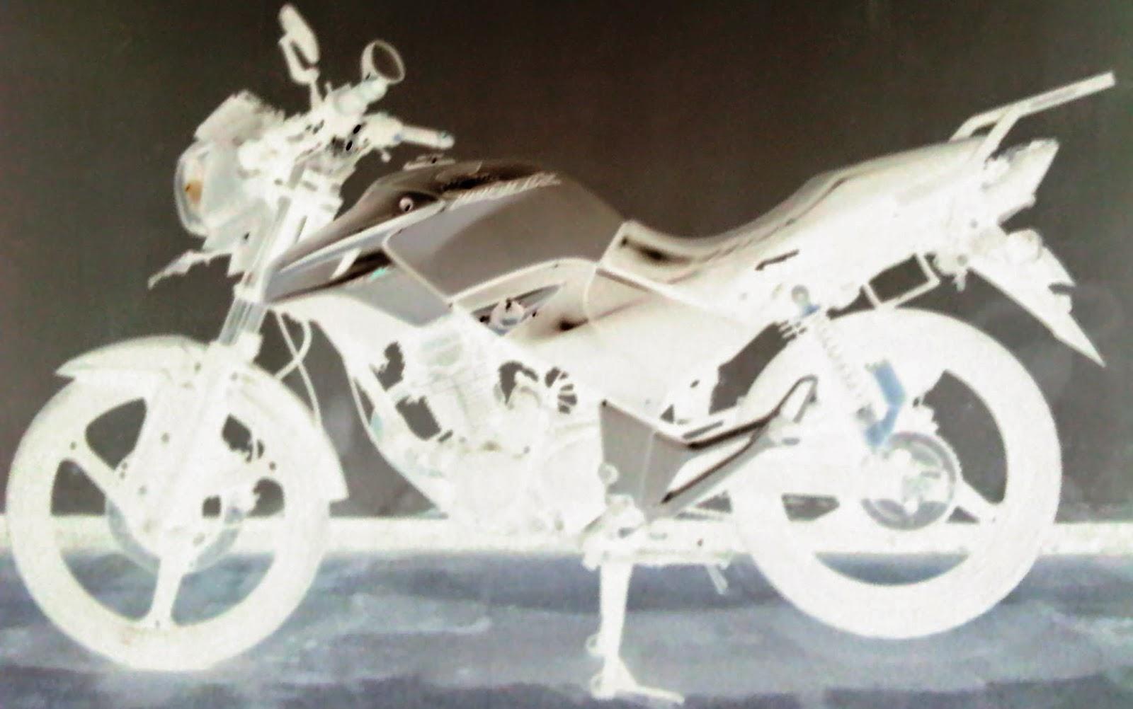 foto ronsen motor honda tiger revo 2010