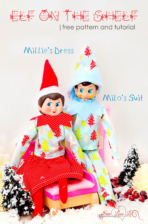 Elf On The Shelf Clothes Sewing Patterns | Share The Knownledge