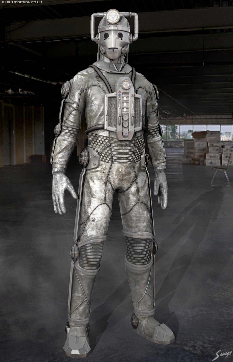 Mattsav Cyberman Re Design