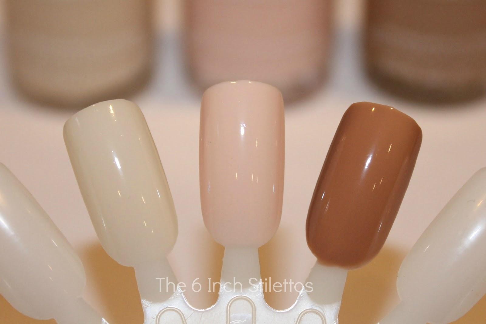 Revlon Colourstay Nail Enamel - Mannequin Hands ~ The 6 Inch Stilettos