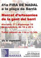 Fira de Nadal de Sarrià 2016