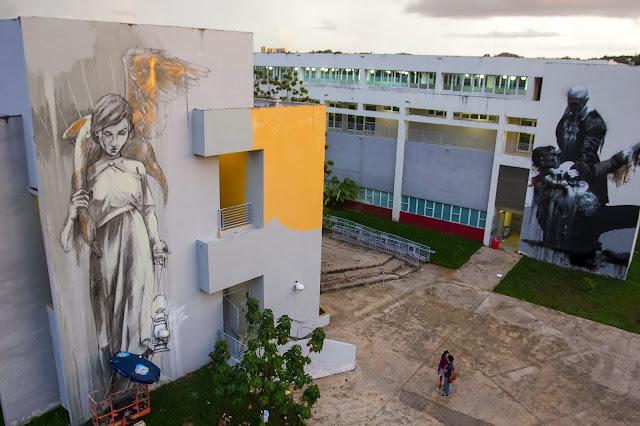 Work In Progress By Faith47 For Los Muros Hablan In Puerto Rico. 3