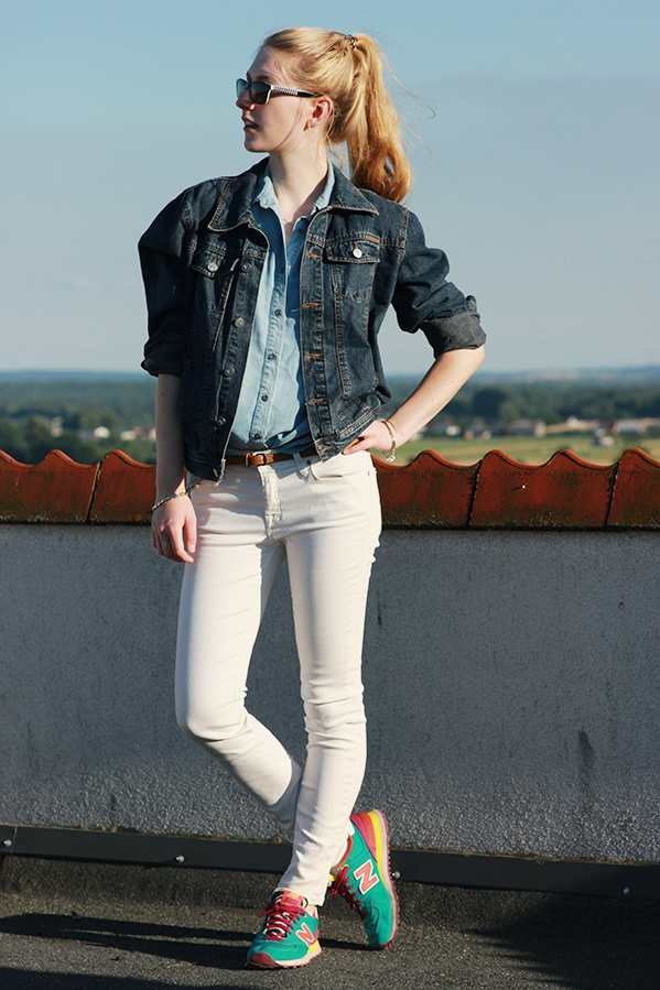 Promod shirt Calvin Klein jacket Lee jeans New Balance shoes SimplyTheBest Blog created by Ewa Sularz