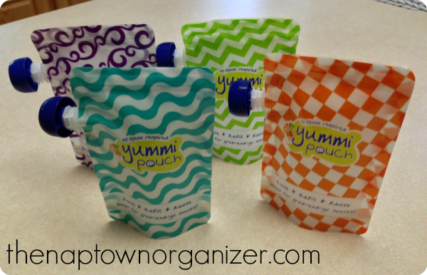 reusable pouches, baby food, eco friendly
