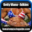 Betty Viana - Adkins IFBB Pro Female Bodybuilder Thumbnail Image 8