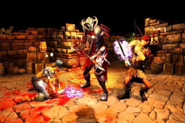 Screen Shot Of Dungeons Game Of The Year Edition (2012) Full PC Game Free Download At Downloadingzoo.Com