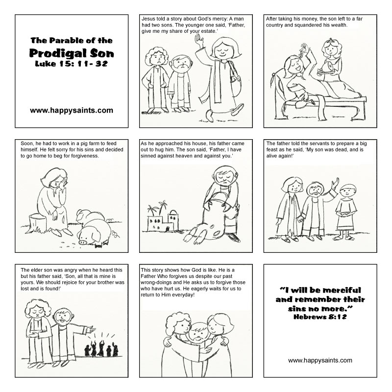 Free Coloring Pages Of Parable The Fig Tree
