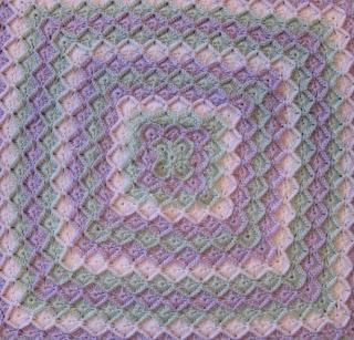 Crochet Pattern Central - Free Pattern - Bubbles Baby Blanket