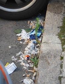 Mercato del tabacco, salute, business e mozziconi per strada