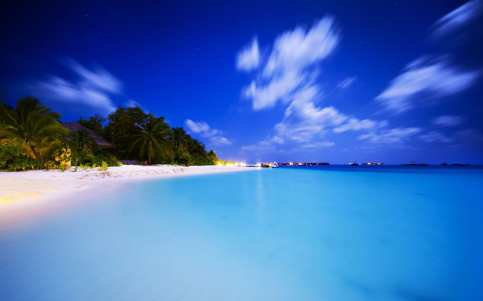 Gambar Pemandangan Pantai Pemandangan Indah Wallpaper