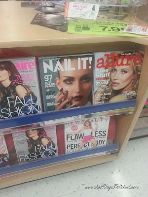 Display and Nail It! magazine #shop #iheartmynailart #cbias #walgreens