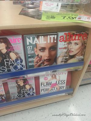 Display and Nail It! magazine #shop #iheartmynailart #cbias #walgreens