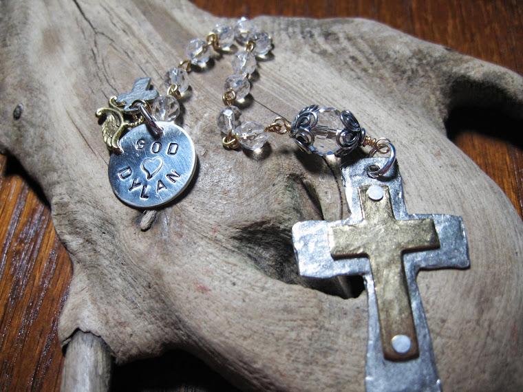 Custom Baptism Rosary