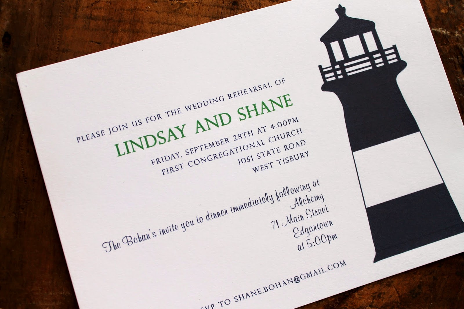 Hobart and Haven: Nautical wedding invitations of the summer