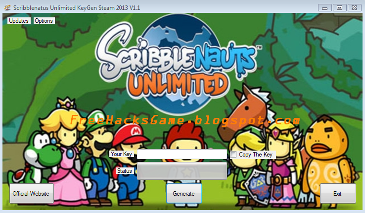 how to download scribblenauts unlimited for free
