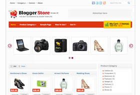 Blogger Store 2 Blogger Template