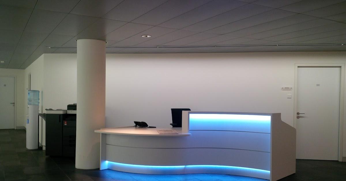 Colour up your office !: Empfangstheken und Empfangstresen als ...