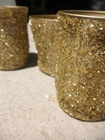 Cristalee Diy Glittered Vases