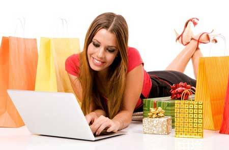 Gambar Orang Belanja Online