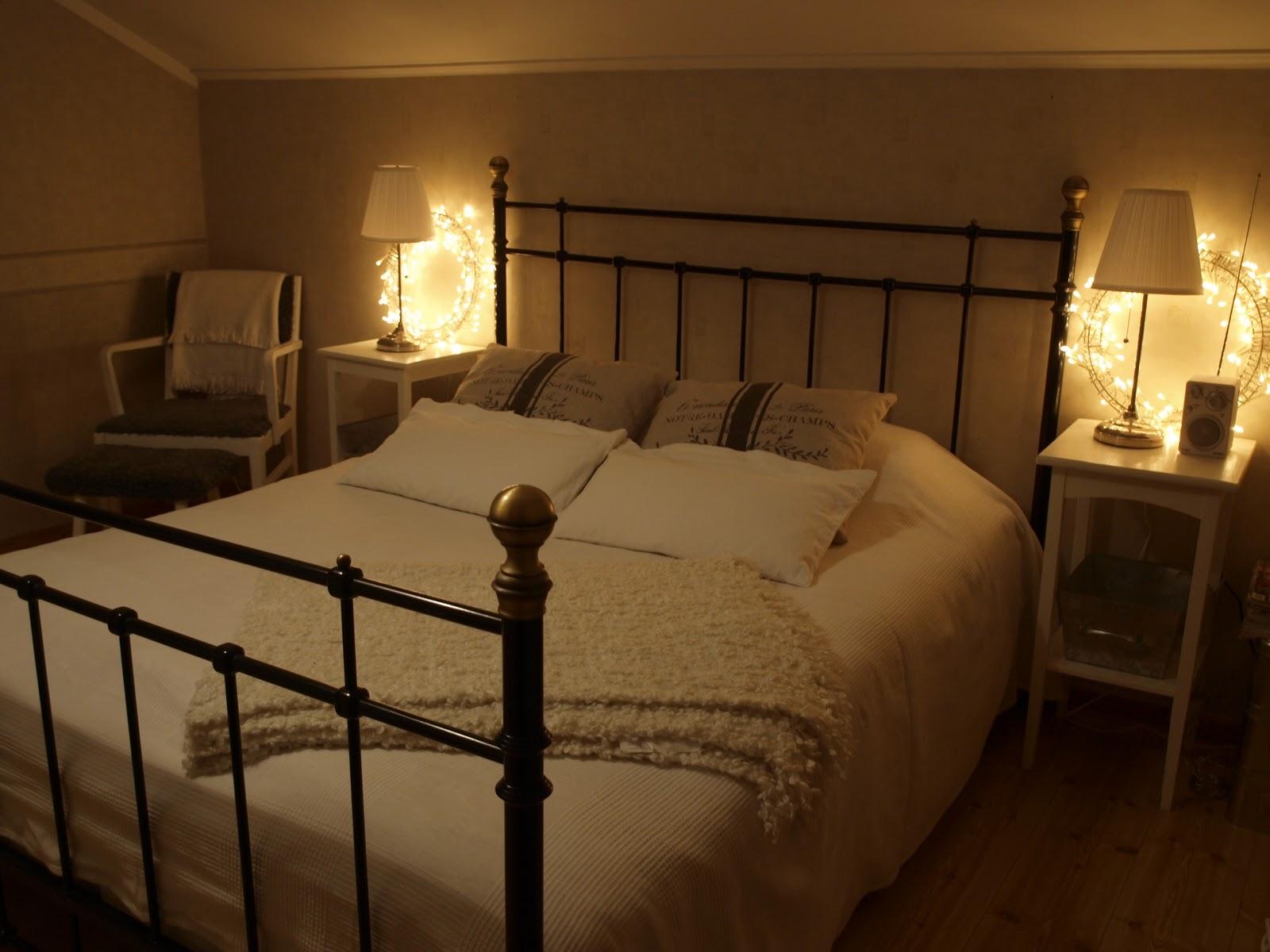Annas vita hus: vinter sovrum