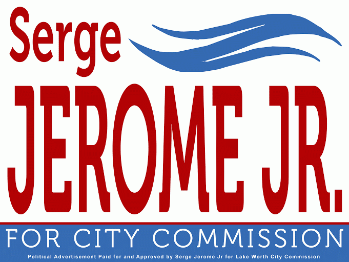 Serge Jerome, Jr. for Commissioner District #2